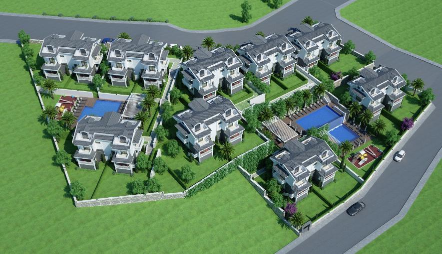 דירות חדשות בבנייה בגוצ'ק.